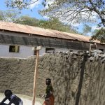 The Water Project: Maviaume Primary School -  Working On The Tank Walls
