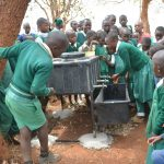 The Water Project: Kyandoa Primary School -  Handwashing Training