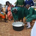 The Water Project: Kyandoa Primary School -  Mixing Soap