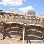 The Water Project: Kyandoa Primary School -  Scaffolding For Tank Wall Construction