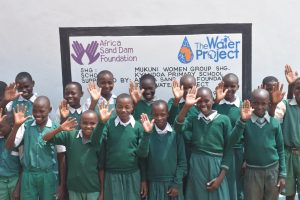 The Water Project:  Students At Their New Tank