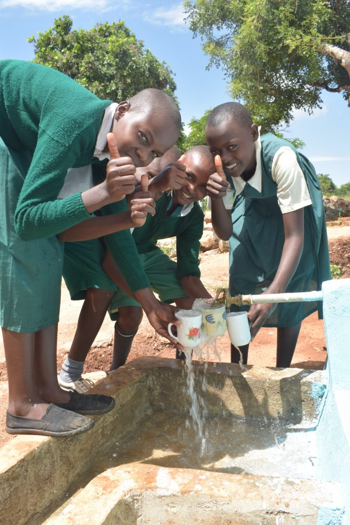 The Water Project : kenya19249-thumbs-up