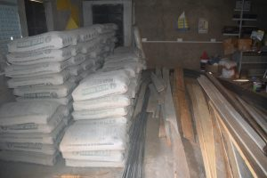 The Water Project:  Cement And Boards For Construction