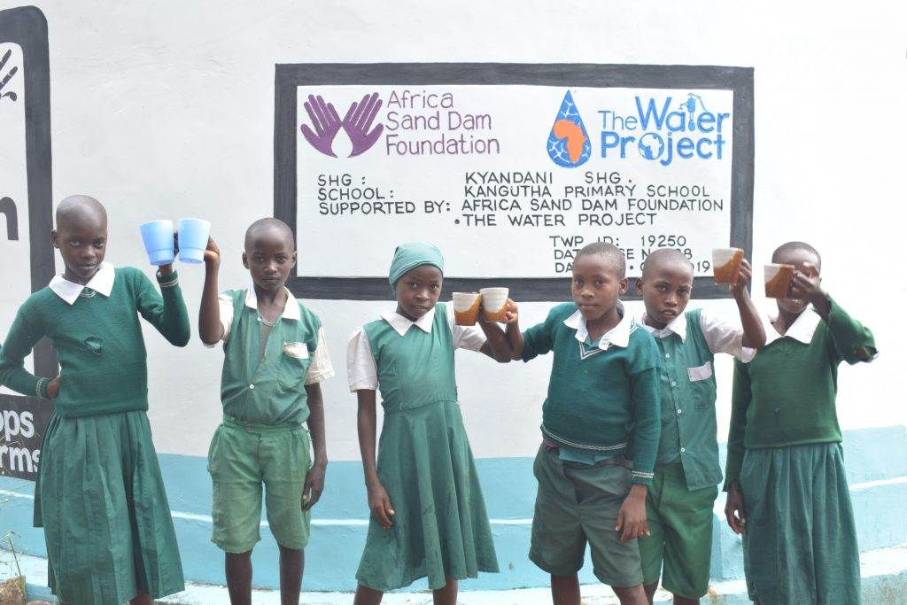 The Water Project : kenya19250-cheers