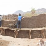 The Water Project: Kangutha Primary School -  Finishing Up The Walls