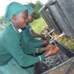 The Water Project: Kangutha Primary School -  Handwashing