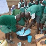The Water Project: Kangutha Primary School -  Soapmaking