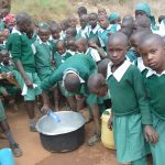 The Water Project: Kangutha Primary School -  Students Mix Ingredients To Make Soap