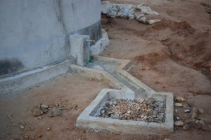 The Water Project:  Faucet And Drainage Area