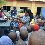 The Water Project: Kithoni Primary School -  Handwashing Demonstration