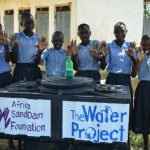 The Water Project: Kithoni Primary School -  Handwashing Station