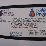 The Water Project: Kithoni Primary School -  Plaque
