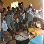 The Water Project: Kithoni Primary School -  Soapmaking