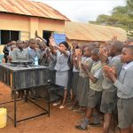 The Water Project: Kithoni Primary School -  Student Handwashing Activity