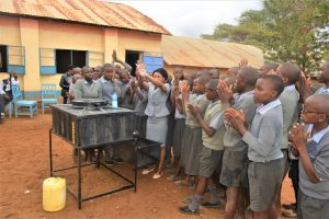 The Water Project:  Student Handwashing Activity