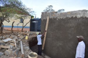 The Water Project:  Working On The Wall