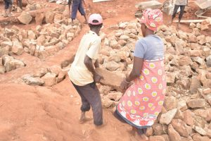 The Water Project:  Carrying Rocks