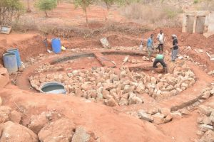 The Water Project:  Constructing The Foundation