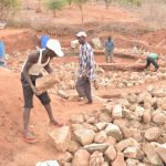 The Water Project: Nguluma Primary School -  Hauling Rocks