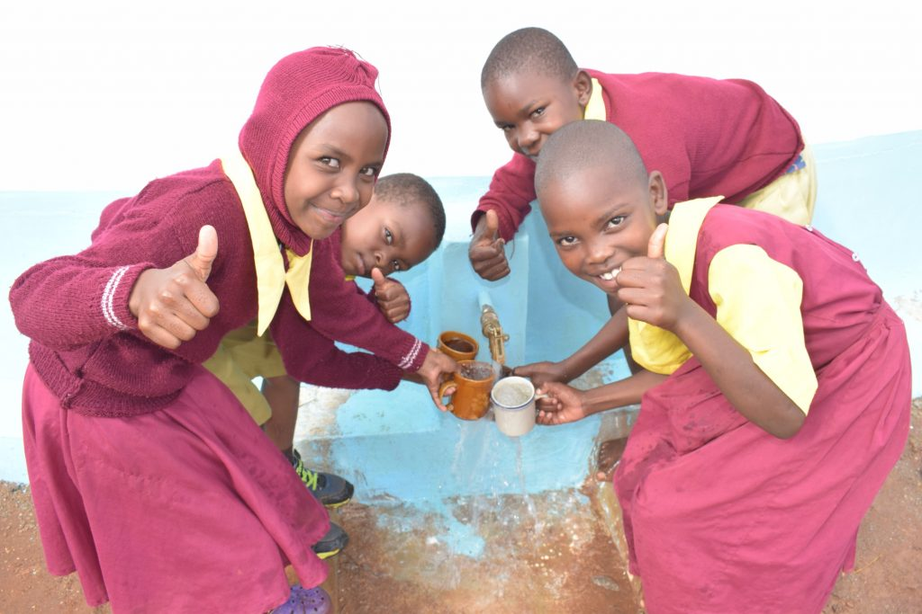 The Water Project : kenya19254-thumbs-up