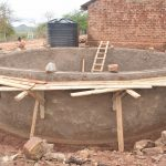 The Water Project: Nguluma Primary School -  Wall Construction