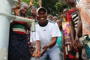 The Water Project:  Councilor Celebrating At The Well