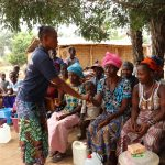 The Water Project: Kamayea, Susu Community & Church -  Disease Transmission Demonstration