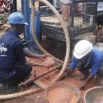 The Water Project: Kamayea, Susu Community & Church -  Drilling