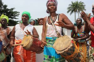 The Water Project:  Drummers At The Well Celebration