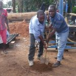 The Water Project: Kamayea, Susu Community & Church -  Ground Breaking
