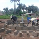 The Water Project: Kamayea, Susu Community & Church -  Pad Construction