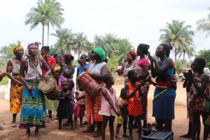 The Water Project:  Singing And Dancing At The Well Dedication