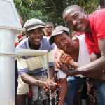 The Water Project: Kamayea, Susu Community & Church -  Well Celebration