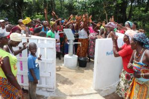The Water Project:  Well Celebration With The Community