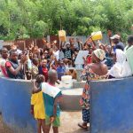 The Water Project: Lungi, Tintafor, St. Lucia Well -  Dedication Celebration