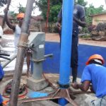 The Water Project: Lungi, Tintafor, St. Lucia Well -  Drilling