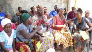 The Water Project:  Community Members Participate During The Training