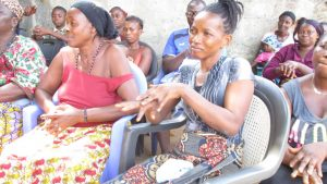 The Water Project:  Community Members Show Proper Handwashing