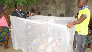 The Water Project:  Anti Malaria Bed Net