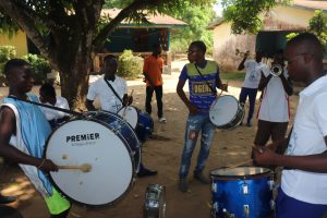 The Water Project:  Brass Band Set For Dedication
