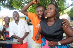 The Water Project:  Councilor Singing And Celebrating For Safe Drinking Water