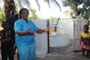 The Water Project:  Nurse Baby Chalie Making Statement