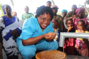 The Water Project:  Nurse Rejoices At The Well