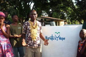 The Water Project:  Peter Mustapha Making Statement