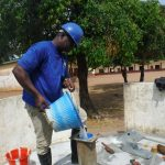 The Water Project: Lungi, Mamankie, DEC Mamankie Primary School -  Chlorination