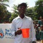 The Water Project: Lungi, Mamankie, DEC Mamankie Primary School -  Head Teacher Making Statement