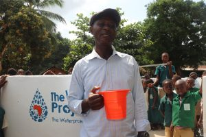 The Water Project:  Head Teacher Making Statement