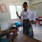 The Water Project: Lungi, Mamankie, DEC Mamankie Primary School -  Lesson From The Hygiene Facilitator