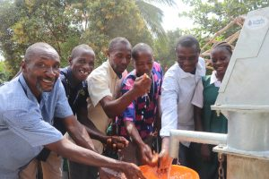 The Water Project:  School Staff Celebrate At The Well