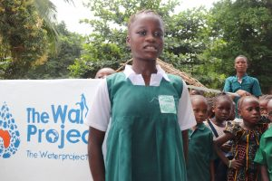 The Water Project:  Student Makes A Statement